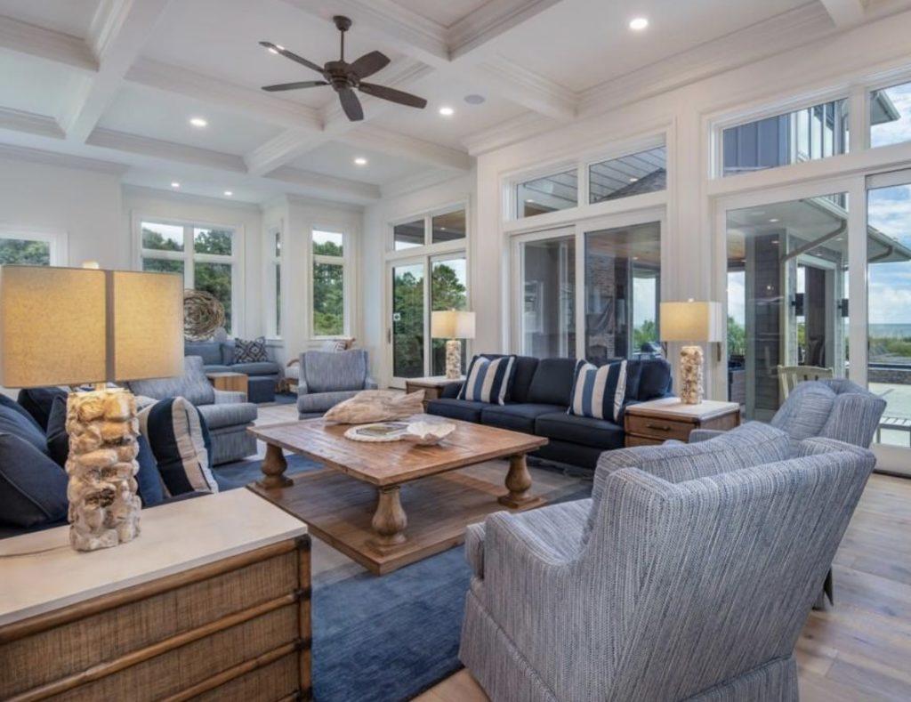 Brand New Custom Luxury Home in Sea Pines Features Breathtaking Atlantic Views